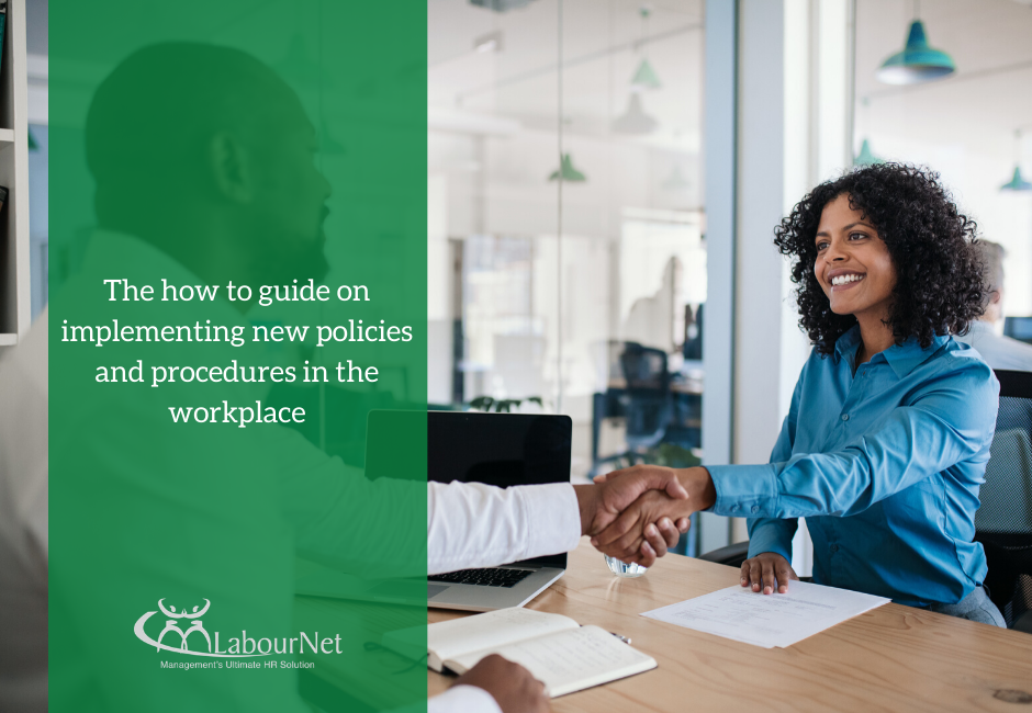 How to guide on implementing new policies and procedures in the workplace