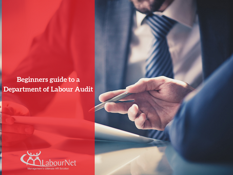 Beginners guide to a Department of Labour Audit