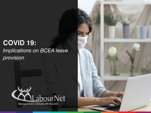 Implications on BCEA leave provision