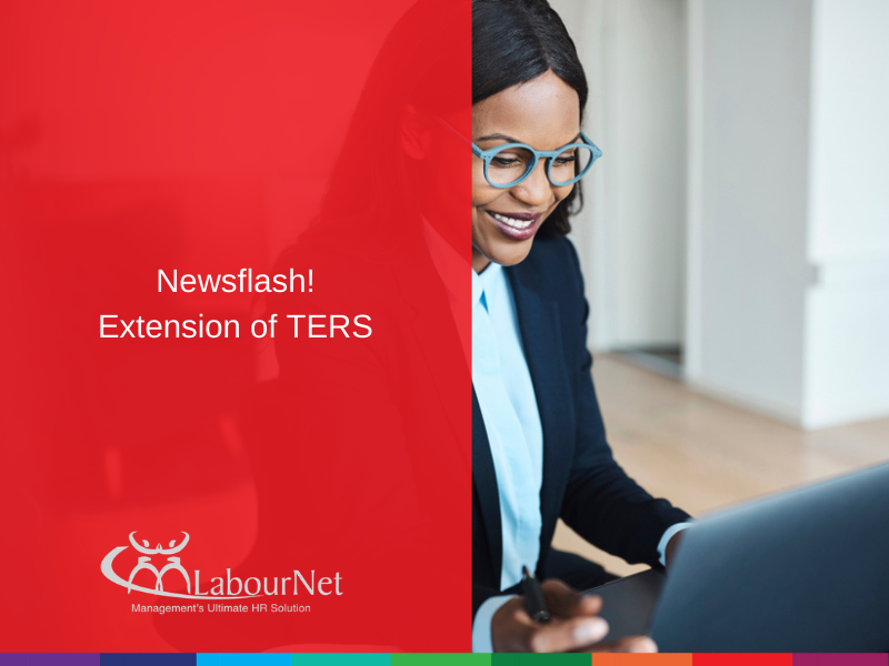 Newsflash! Extension of TERS