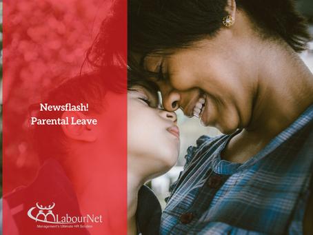 Newsflash! Parental Leave