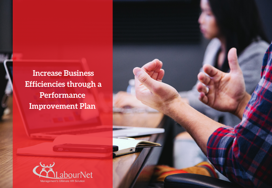 Increasing Business Efficiencies through a Performance Improvement Plan
