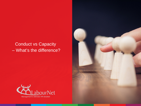 Conduct vs Capacity – What's the difference?