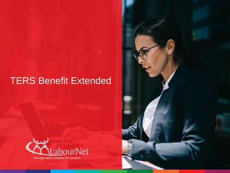 TERS Benefit Extended