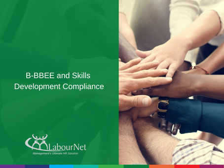 B-BBEE and Skills Development Compliance