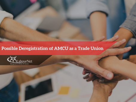 Possible Deregistration of AMCU as a Trade Union
