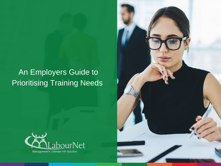 An Employers Guide to Prioritising Training Needs