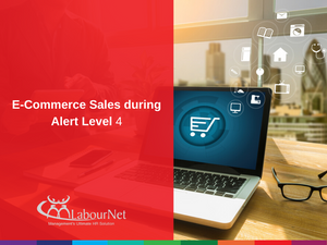 E-Commerce Sales during Alert Level 4