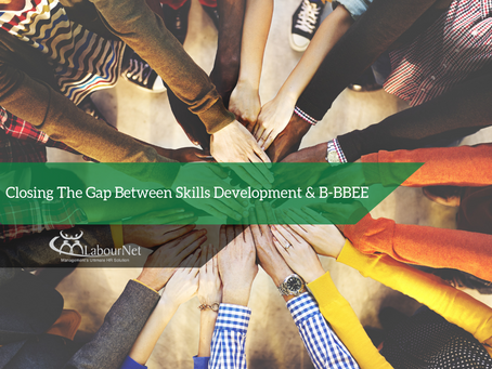 Closing the gap between Skills Development & B-BBEE