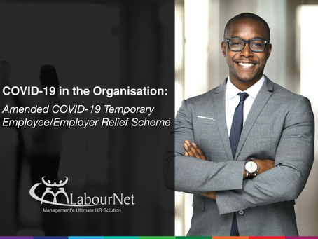 Amended COVID-19 Temporary Employee/Employer Relief Scheme