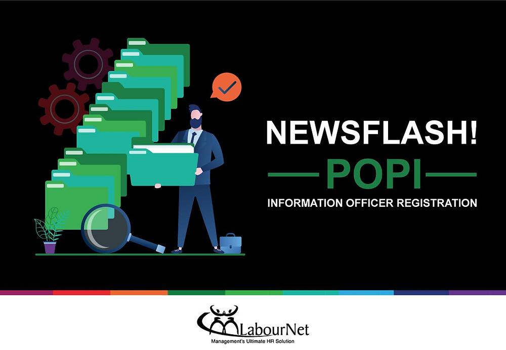 Newsflash! POPI - Information Officer Registration