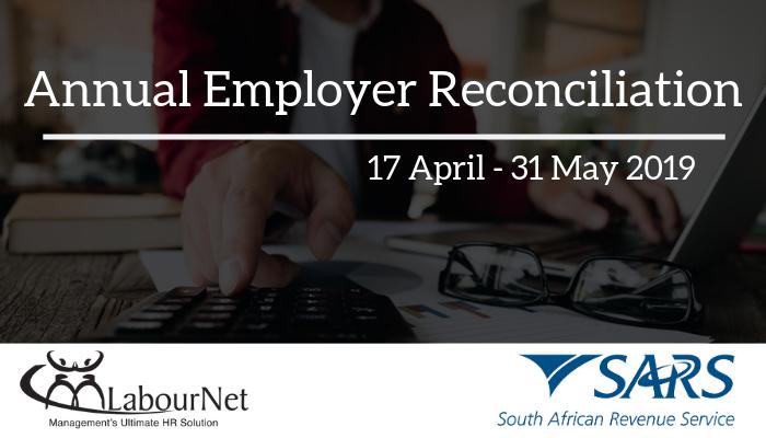 Annual employer reconciliation