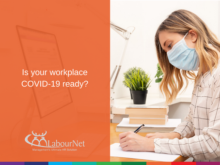 Is your workplace COVID-19 ready?