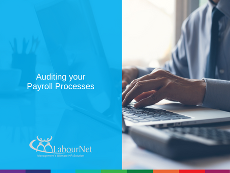 Auditing Your Payroll Processes