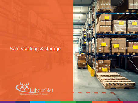 Safe stacking & storage