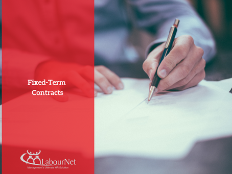 Fixed-Term Contracts