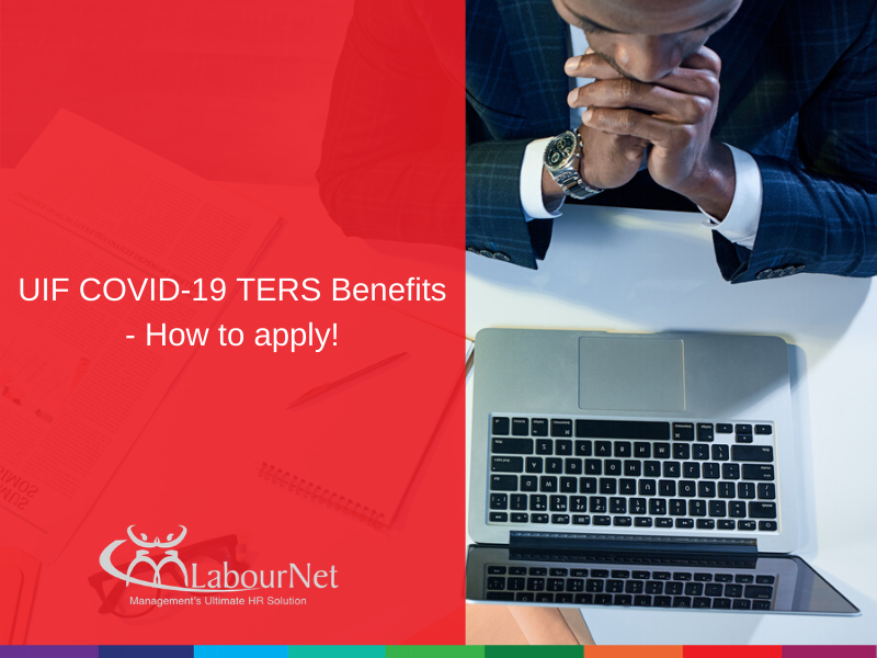 UIF COVID-19 TERS Benefits - How to apply!