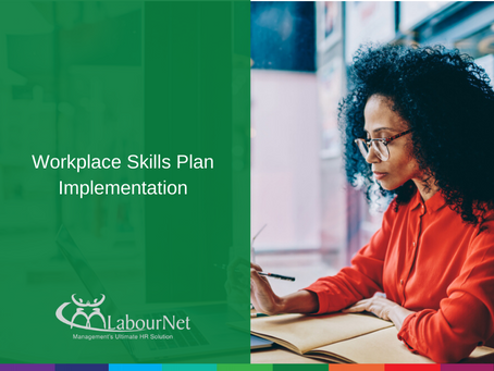 Workplace Skills Plan Implementation
