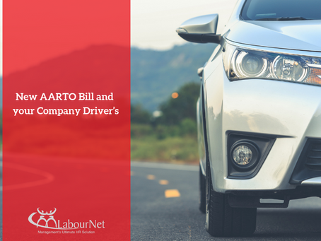 New AARTO Bill And Your Company Driver's