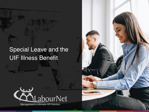 Special leave and the UIF illness benefit