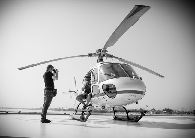 Wouter Kingma - Behind the Scene Aerial
