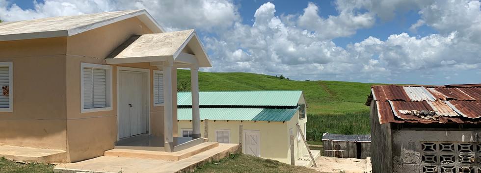 La Papita church and homes