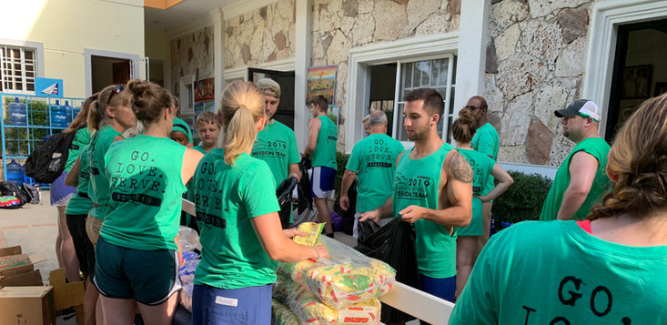 Preparing food distribution