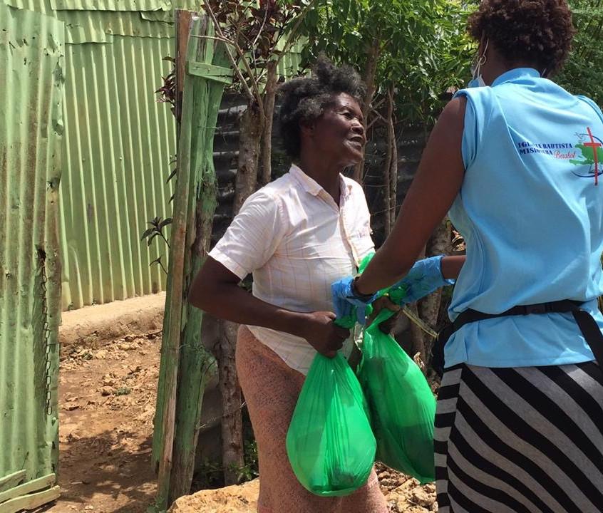 Food distribution Kilometer 6