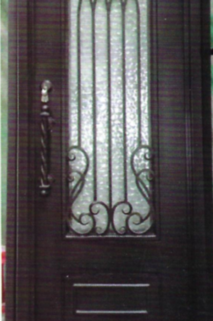 SD-009 Single Door Square Top