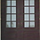 Thumbnail: DD-006 Double Door Square Top