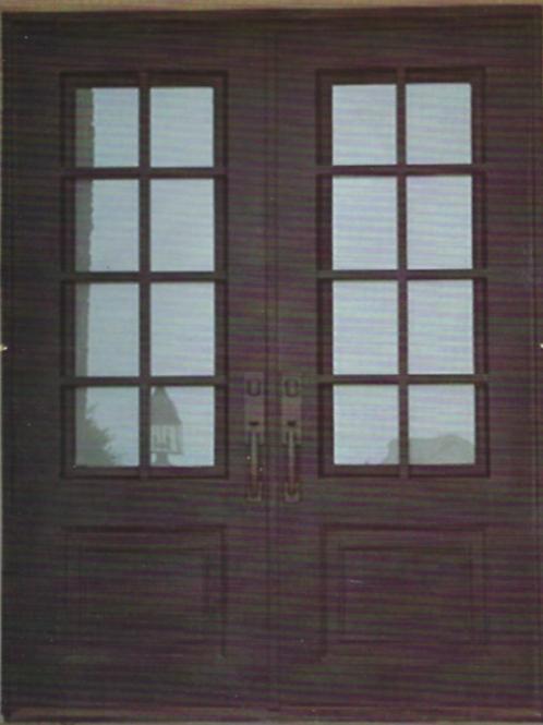 DD-006 Double Door Square Top