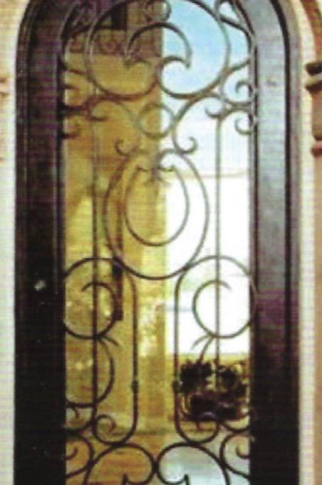SD-021 Single Door Radius Top