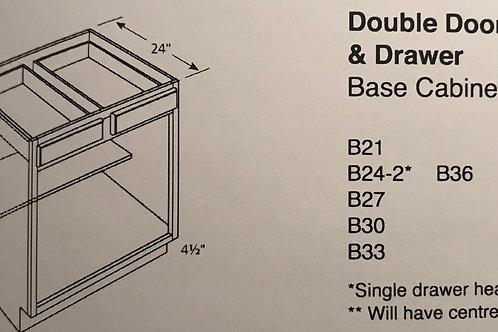 Double Door & Drawer