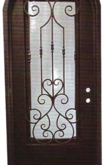 SD-019 Single Door Radius Top