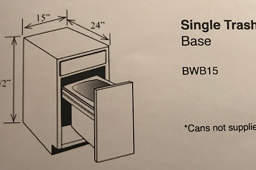 Single Trash Can Base
