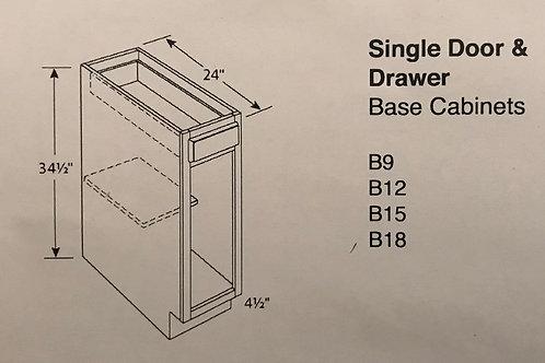 Single Door & Drawer