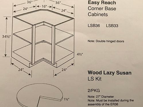 Easy Reach Corner Base Cabinets