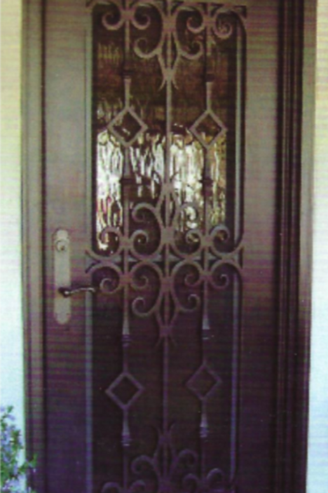 SD-005 Single Door Square Top