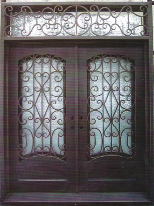 DD-007 Double Door Square Top