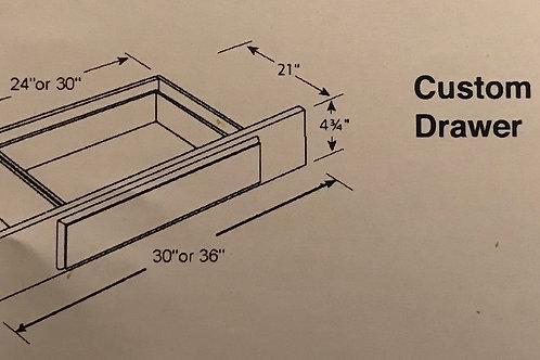 Custom Lap Drawer