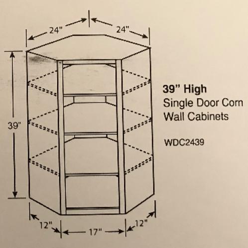 """39"""" High Single Door Corner"""