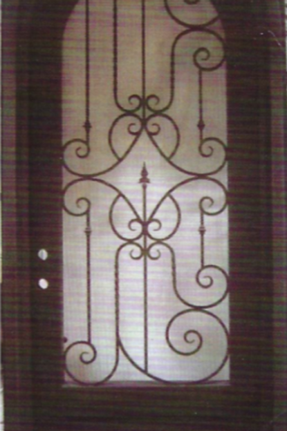 SD-026 Single Door Radius Top