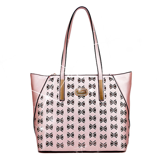 Butterfly Twinkle Star Luxury Leather Designer Tote Bag