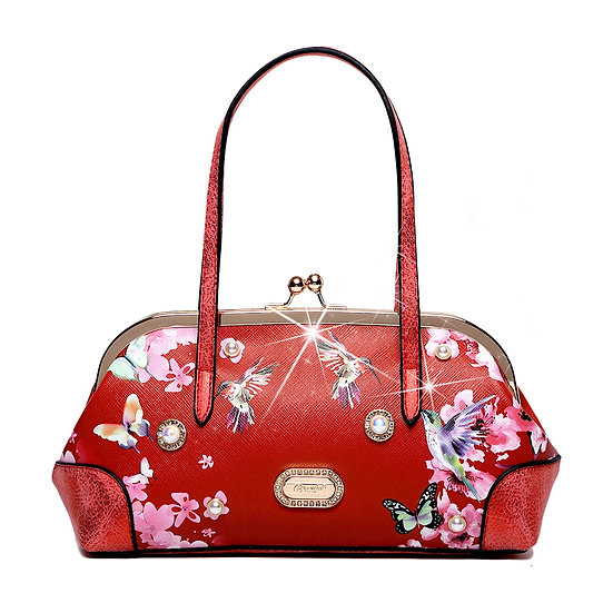 Hummingbird Mini Clutch Scratch & Stain Resistant Evening Bag