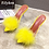 Thumbnail: Women Transparent Feather Mules Slippers