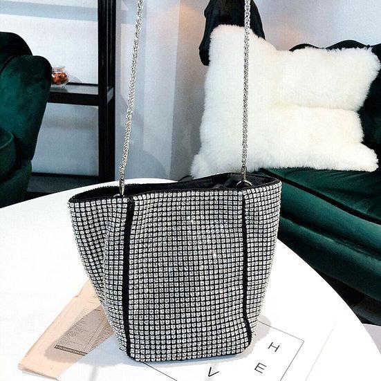 Bling Rhinestone Evening Handbag