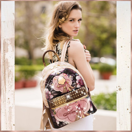 Queen Arosa Backpack With Multiple Pockets Bag