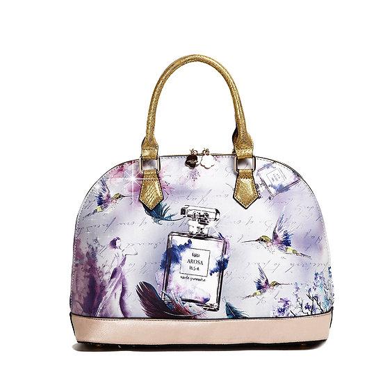 Arosa Fragrance Dome Vintage Hollywood Retro Graphic Handbag