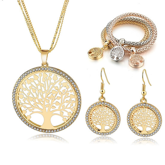 Tree of Life Jewelry Set for Women