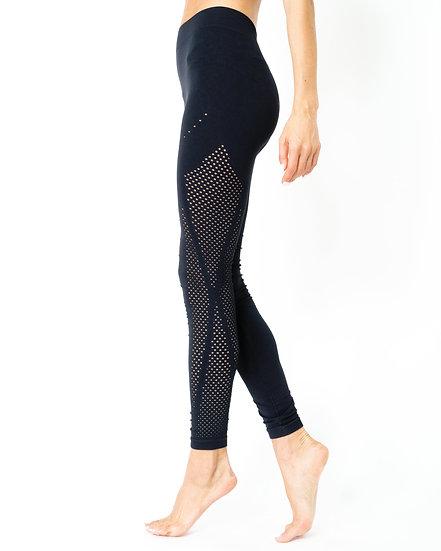 StylezbyFuse Milano Seamless Legging - Black [MADE IN ITALY]